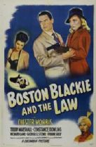 Boston Blackie and the Law 1946 DVD - Chester Morris / Trudy Marshall